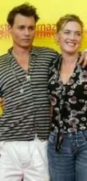 Depp y Winslet