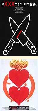 Dos carteles distintos de Exxxorcismos