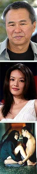 Hou Hsiao-Hsien, Shu Qi y el film