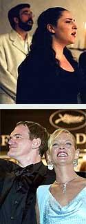 Comme une image y Tarantino con Thurman