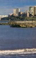 Mar del Plata, playas y cine