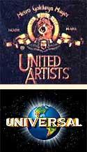 Logos de MGM y Universal