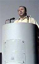 Víctor Sotomayor, en el acto inaugural