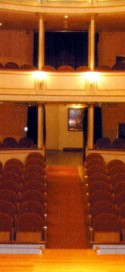 Teatro chico, sede del festival