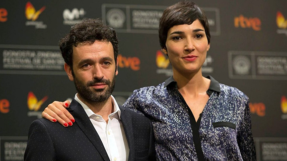 Rodrigo Sorogoyen e Isabel Peña