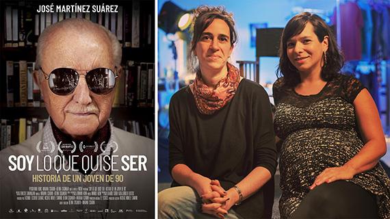 Cartel del documental sobre Martínez Suárez y sus directoras