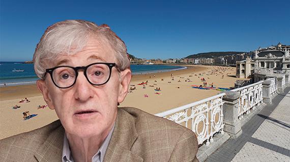 Woody Allen y la Playa de la Concha