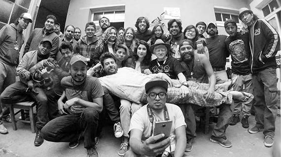 El equipo de la película