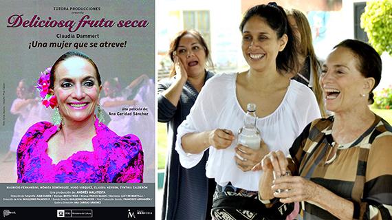 """""""Deliciosa fruta seca"""" y Ana Caridad Sánchez con Claudia Dammert"""