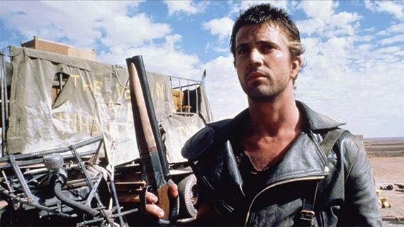 """Mel Gibson en sus inicios como """"Mad Max"""""""