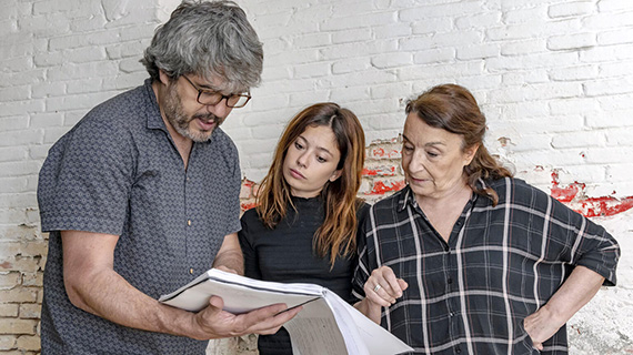 Ana Castillo y Petra Martínez