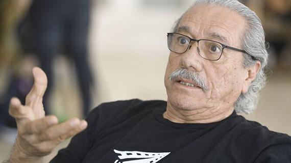 """Edward James Olmos, uno de los participantes en """"Carlos Almaraz"""""""