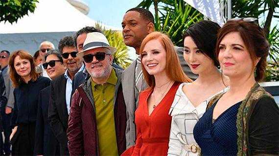 En 2017, Almodóvar fue jurado en Cannes