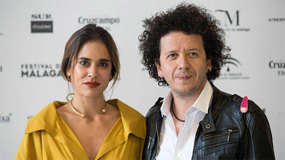 Carolina Ramírez y Rubén Mendoza