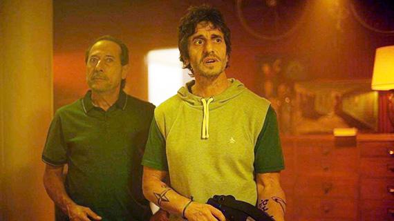 """Guillermo Francella, el actor frente a su personaje, en """"El robo del siglo"""""""