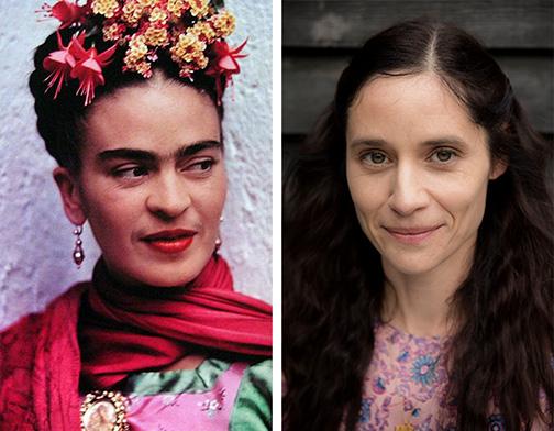 La auténtica Frida Kahlo y Paloma Baeza