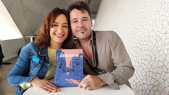 Rémirez y De la Fuente, con la novela gráfica que van a rodar