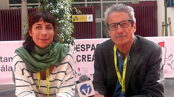 Laura Cazador y Fernando Pérez