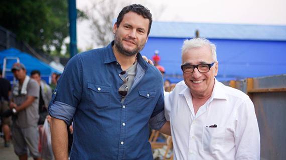 Gastón Pavlovich y Martin Scorsese