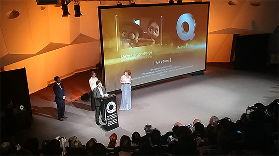 Gala de premiación de los Quirino 2018