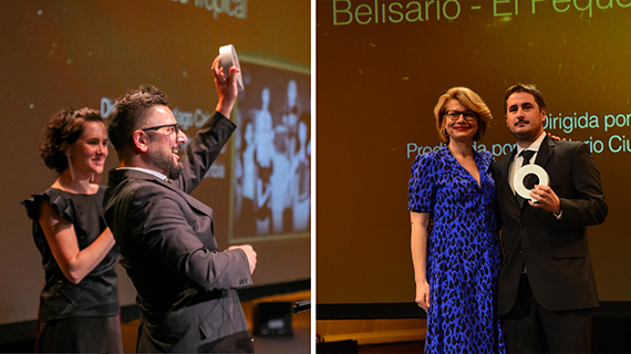 Caicedo y Moyano, con sus premios (PQ)