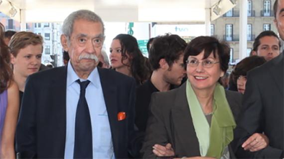 Raúl Ruiz y Valeria Sarmiento