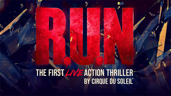"""""""Run"""" es la nueva producción del Circo del Sol"""
