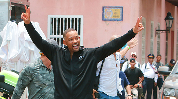 Will Smith, en Cartagena