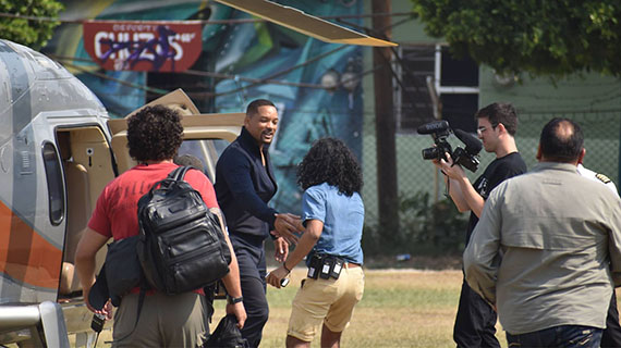 "Will Smith filma en México escenas de la nueva ""Bad Boys"""