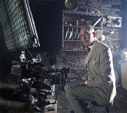 Darío Grandinetti, en el rodaje