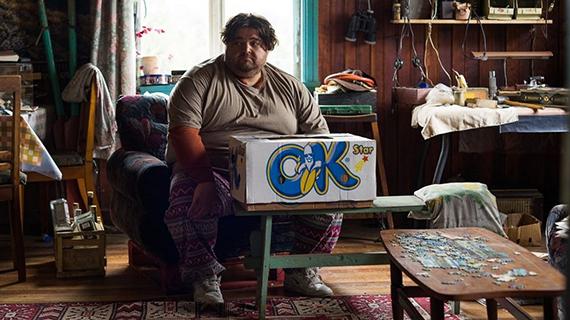 Jorge García, en la película que rodó en Chile