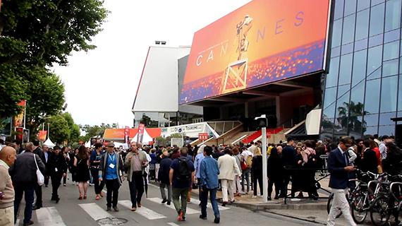 El Palacio de los Festivales, en Cannes