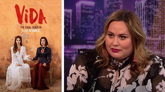 """""""Vida"""" y su autora, Tanya Saracho"""