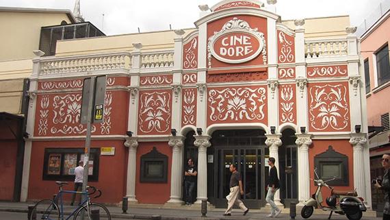 El cine Doré, sede madrileña de la Filmoteca Española