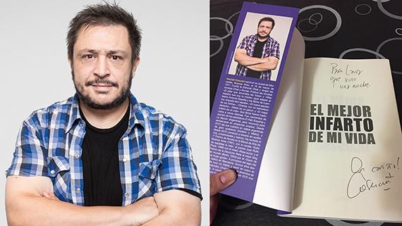 Hernán Casciari y su libro