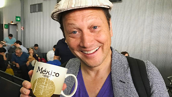 Rob Schneider, enamorado de México