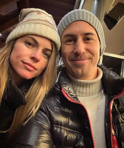 Bruno Ascenzo con Stephanie Cayo