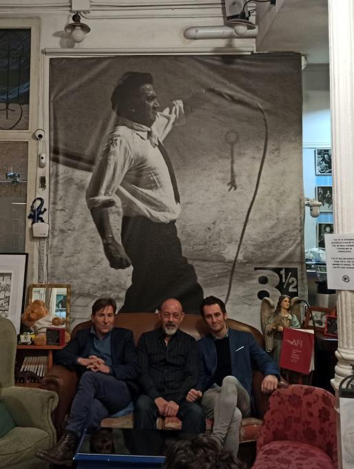 Antonio de la Torre, Raúl Arévalo y Chema del Barco
