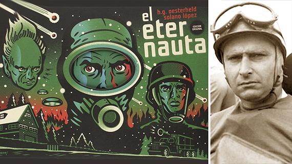 """""""El eternauta"""" y Fangio"""