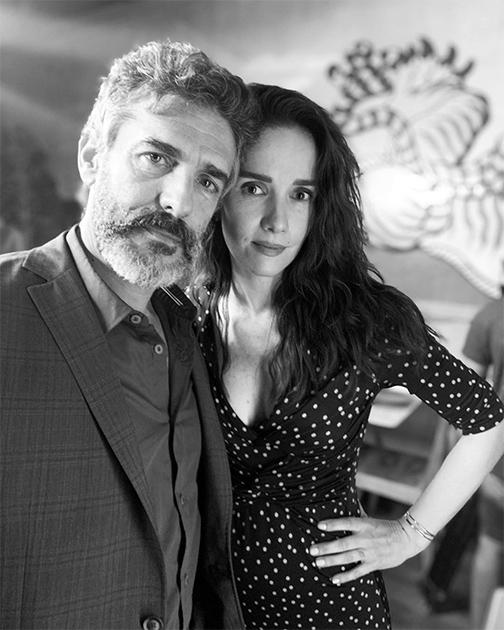 Leonardo Sbaraglia y Natalia Oreiro