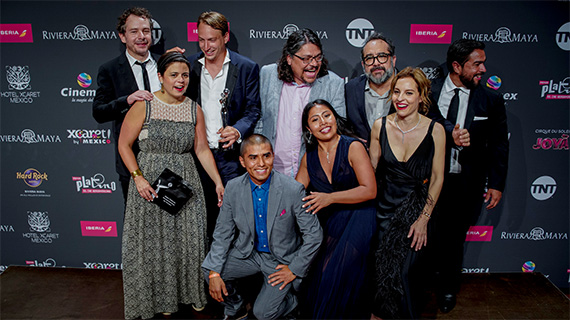 """El equipo de """"Roma"""", ganador de los Platino 2019"""