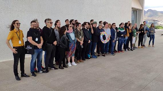 Participantes en la última edición de los Premios Quirino