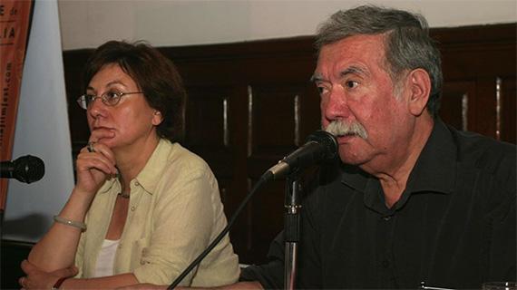 Valeria Sarmiento y Raúl Ruiz
