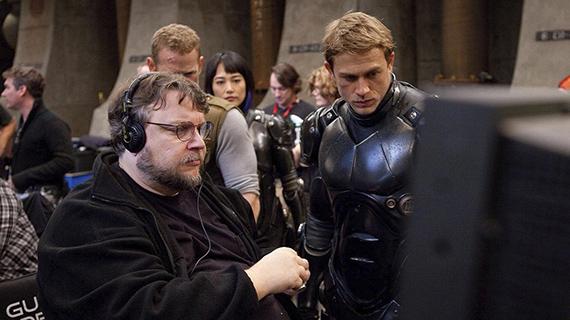 """Guillermo del Toro, en el rodaje de su film más taquillero, """"Pacific Rim"""""""