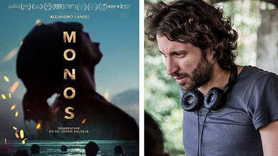 """""""Monos"""" y su director, Alejandro Landes"""