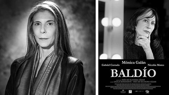 """Inés de Oliveira y Mónica Galán en el cartel de """"Baldío"""""""