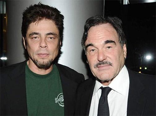 Benicio Del Toro y Oliver Stone trabajarán juntos en White Lies'
