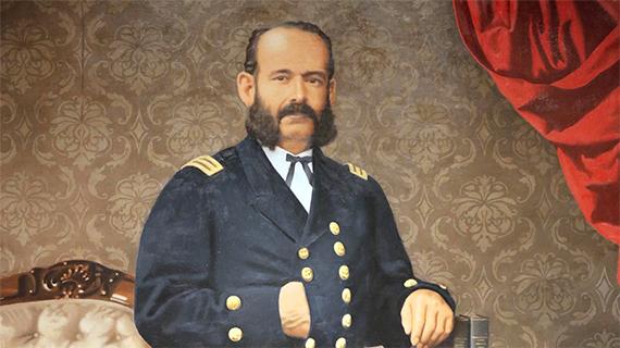 El contraalmirante Miguel Grau