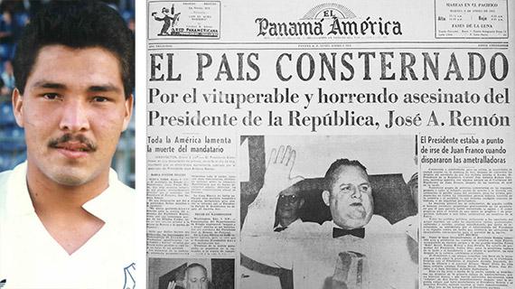 Rommel Fernández y el asesinato de Remón