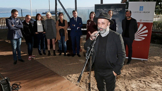 Zarauza presenta su proyecto ante las autoridades gallegas